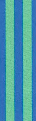 Blue Green Stripe