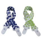 Clip-itz - Product Images Blue Chevron & Green Dot