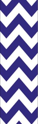Blue & White Chevron